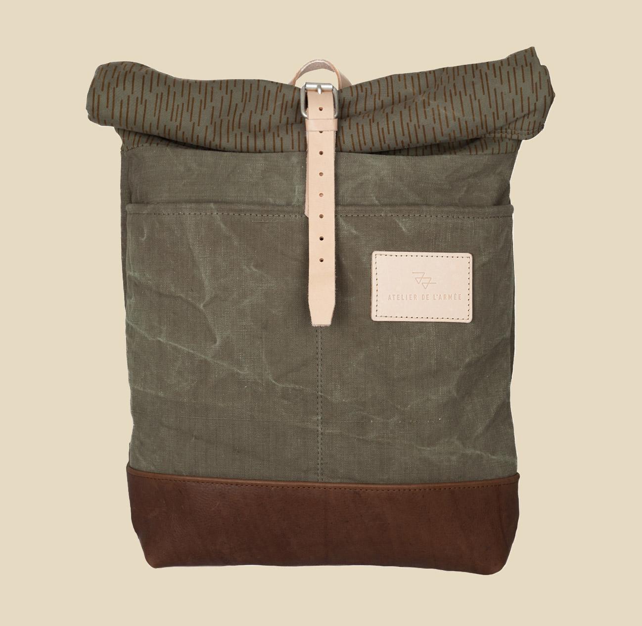 Atelier L'Armee Raindrop Camo Bag