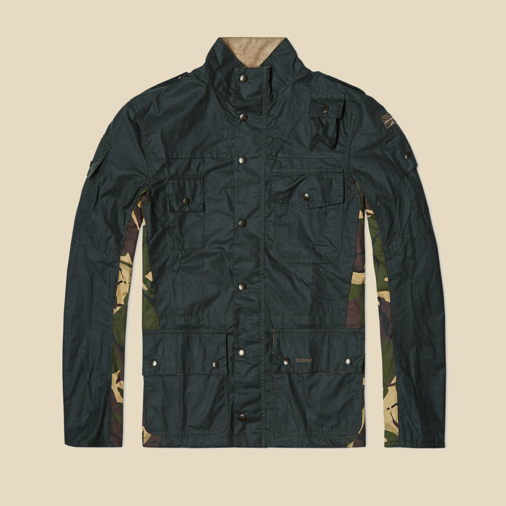 Barbour Jacket incorporating DPM