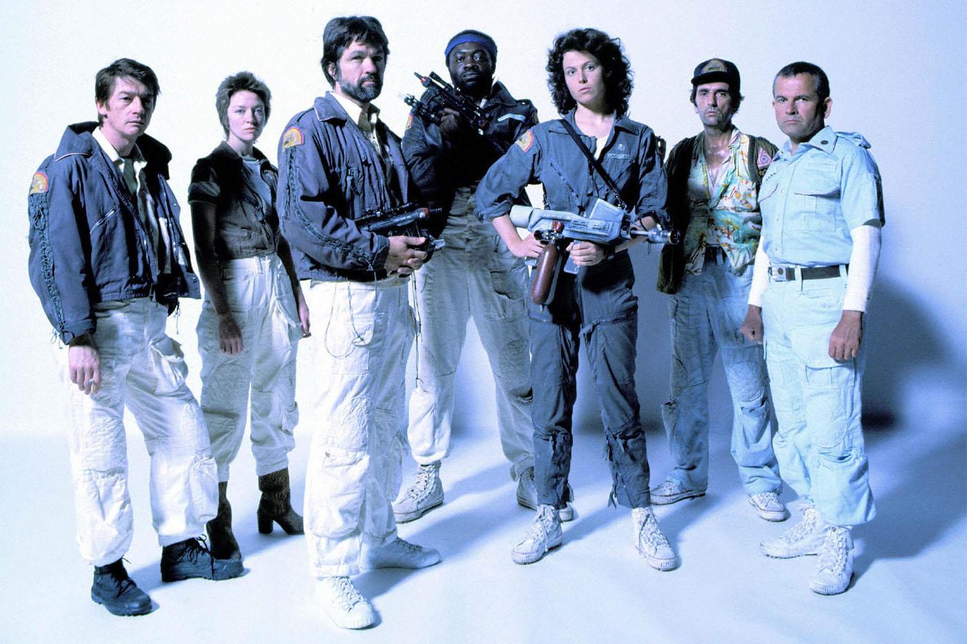 Nostromo crew, Alien 1979