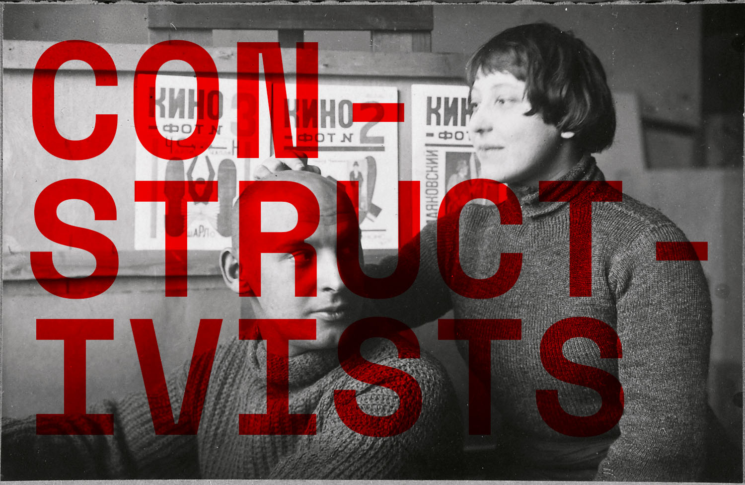 Constructivists Rodchenko and Stepanova