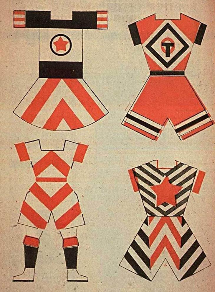 Vavara Stepanova's Sportwear Designs