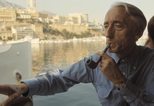 Explorer Jacques Cousteau