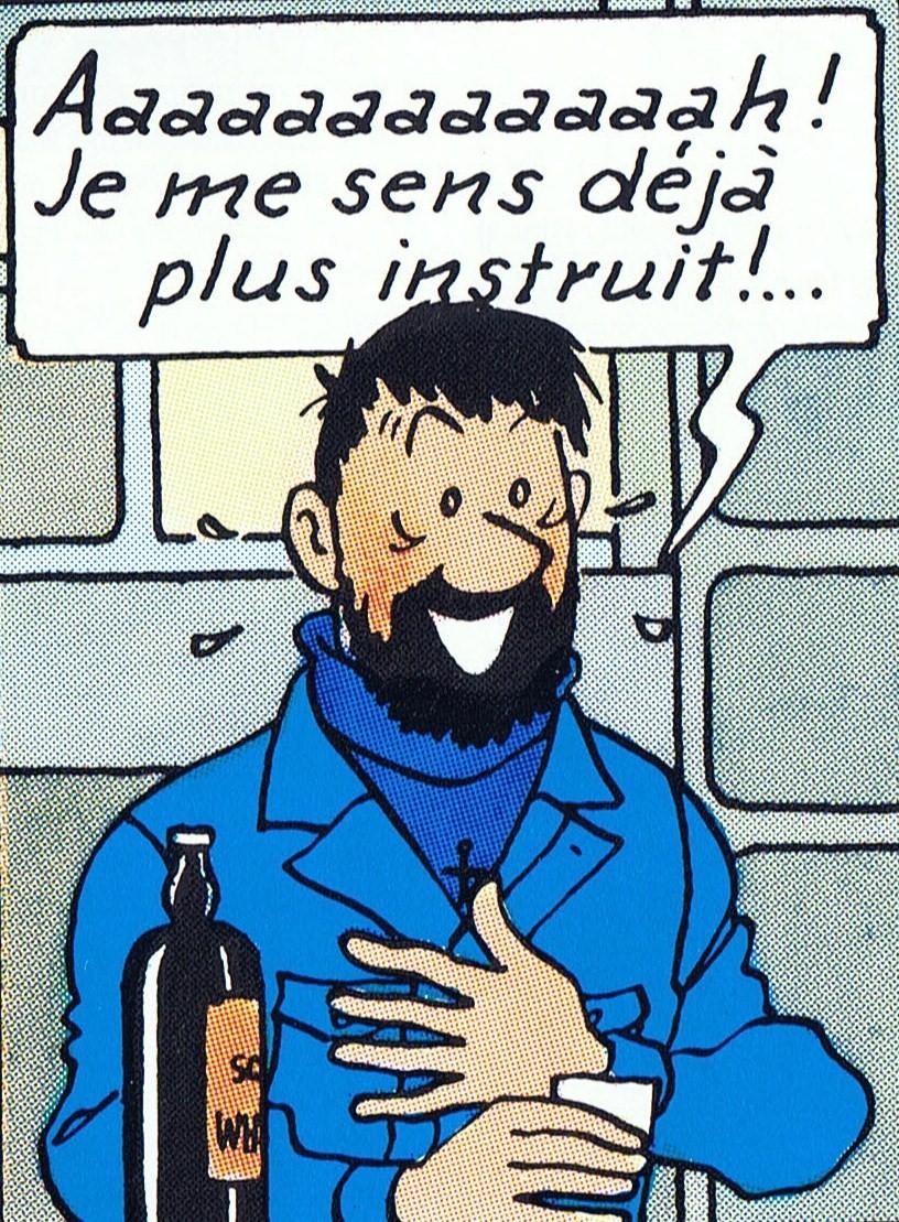 Tintin Captain Haddock