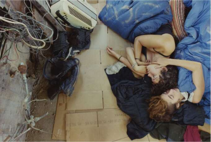 From The Series A Period Of Juvenile Prosperity  Mike Brodie  Les Filles Du Calvaire