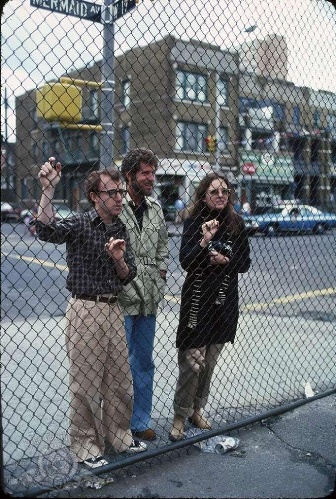 Annie Hall Woody Allen Diane Keaton Tony Roberts