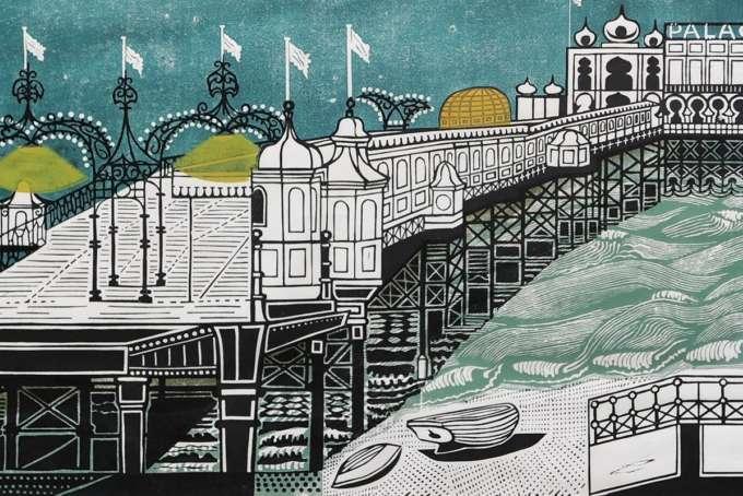 Edward Bawden Pier Front