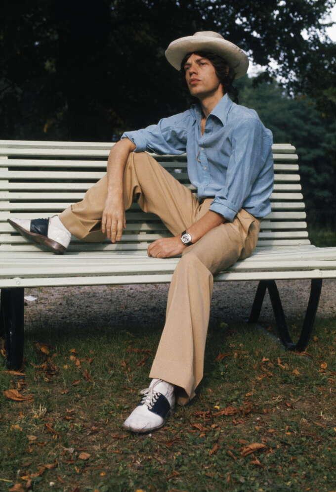 Mick Jagger 1973 Style Anwar Hussein Vienna Austria
