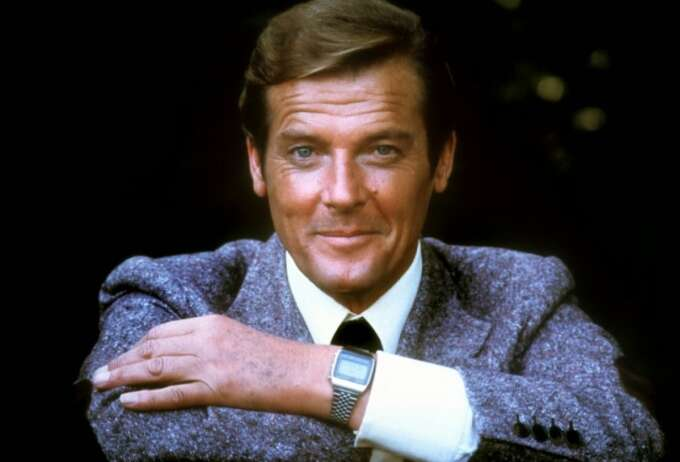 Roger Moore Seiko Watch