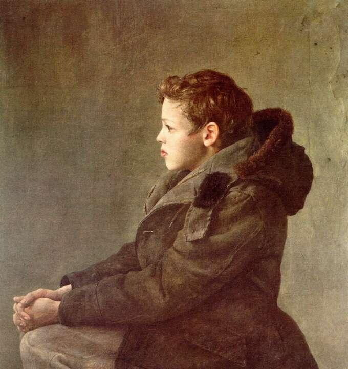 Andrew Wyeth A Boy Daydreaming 1344234352 Org
