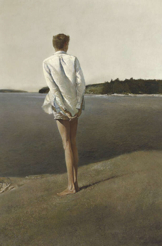 Andrew Wyeth Above The Narrows 1960 1369849513 Org
