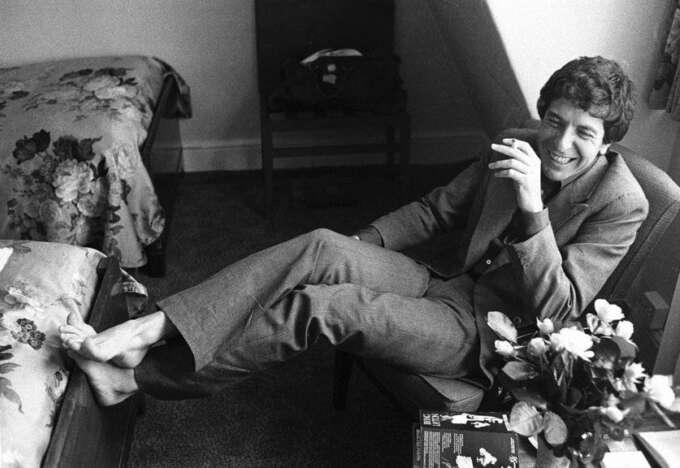 Canadian Singer Songwriter Leonard Cohen London June 1974Brphoto By Michael Putlandbrcourtesy Of Getty Images