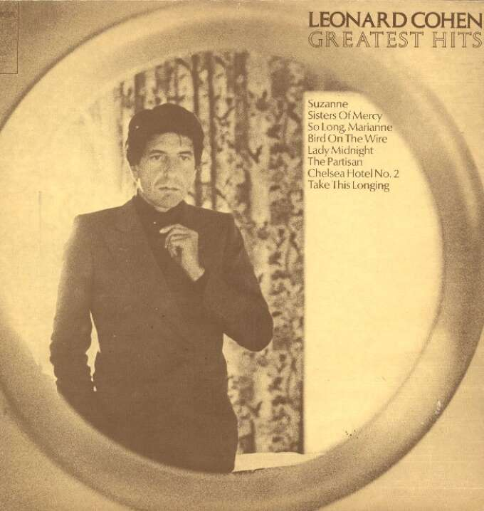 Cohen Leonard 1982 Greatest Hits A1