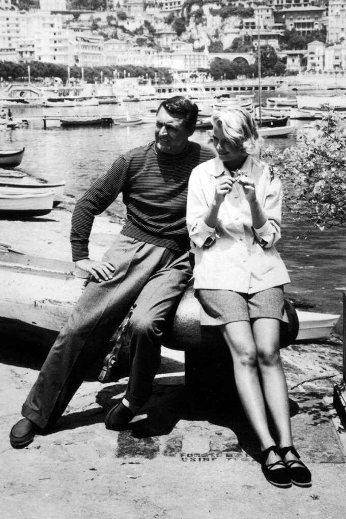 Espadrilles Cary Grant Grace Kelly