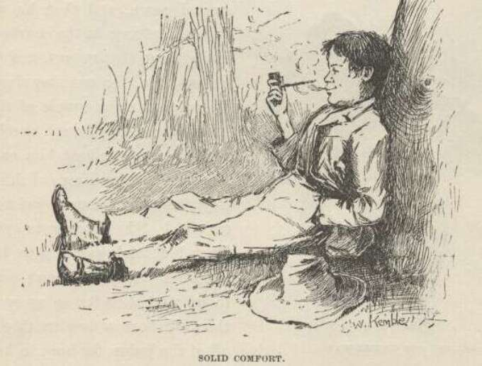 Huck Finn Original Illustrations
