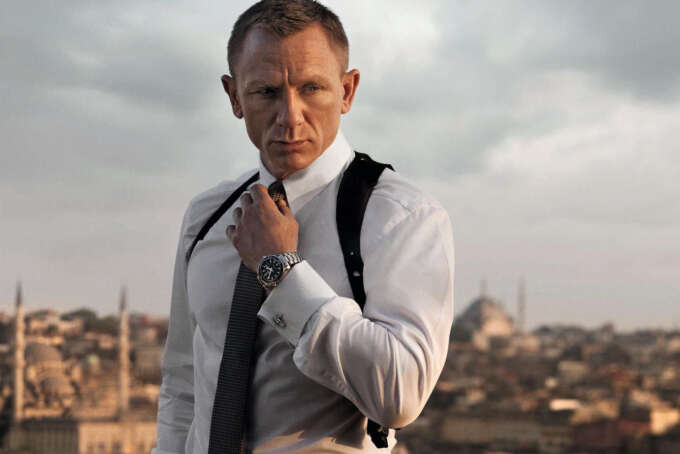 James Bond Daniel Craig Watch