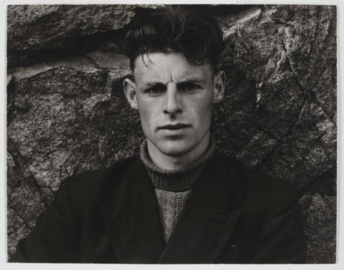 Photo Caption Paul Strand  Angus Peter Mc Intyre South Uist Hebrides 1954  Va Museum Min