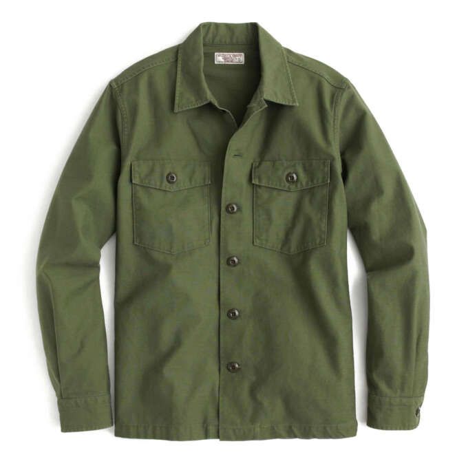 Wallace Barnes Military Overshirt