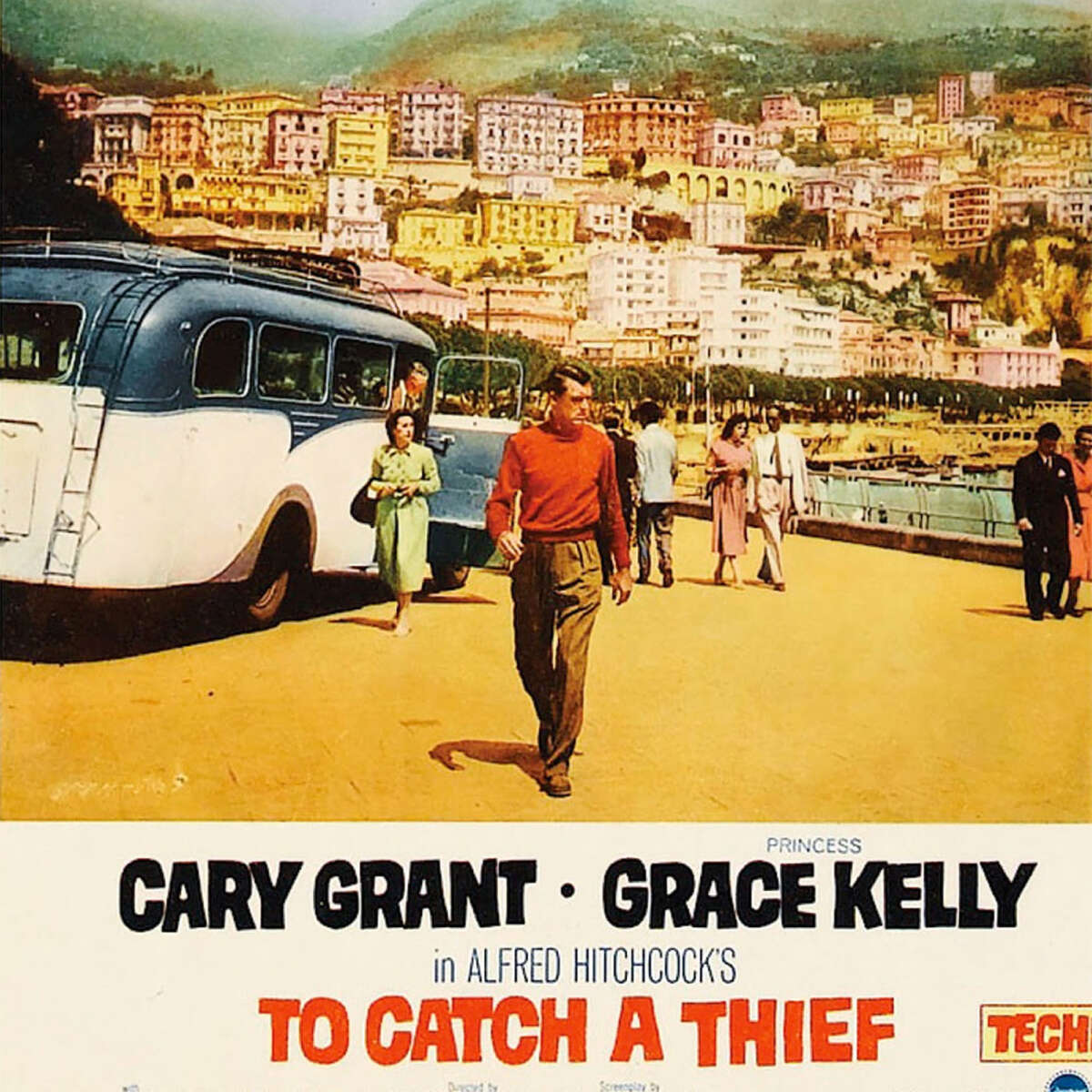 Celluloid Cloth Carey Grant To Catch A Thief