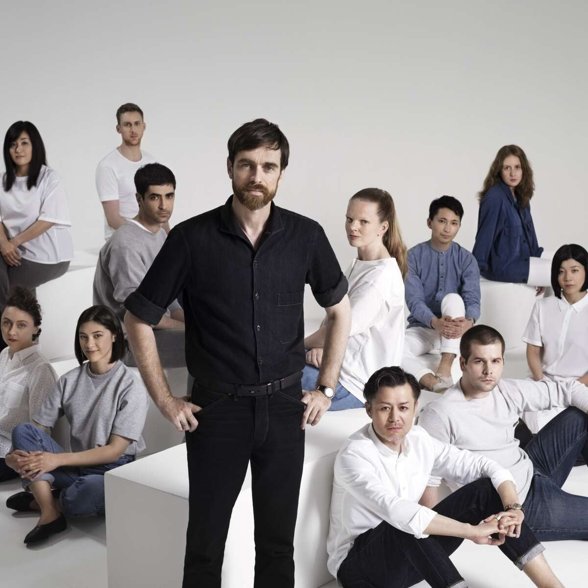 Uniqlo U M Team Portrait